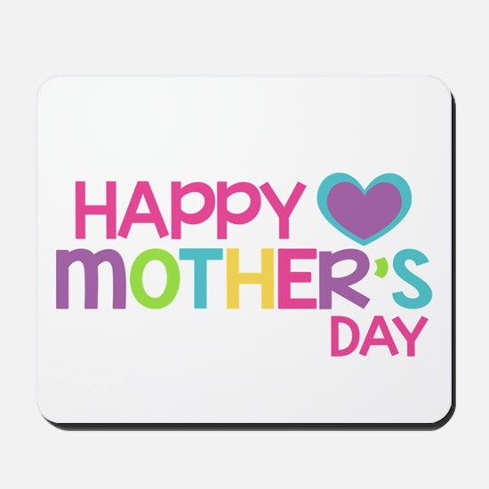 Happy Mother's Day Pink Mousepad