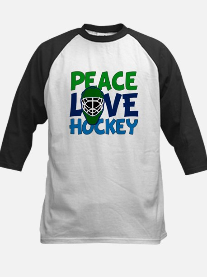 Love Hockey Kids Baseball Jersey