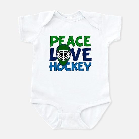 Love Hockey Infant Bodysuit