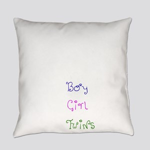 Coming Soon Baby Twins Everyday Pillow