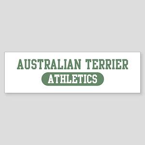 Australian Terrier athletics Bumper Sticker