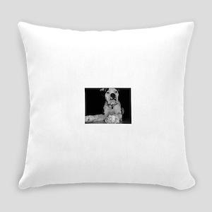 Rosco BlackWhite copy Everyday Pillow