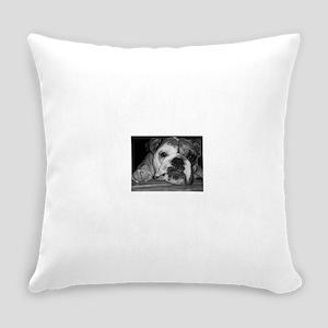 Baby Rita BlackWhite copy Everyday Pillow