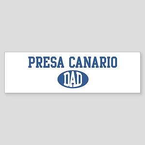 Presa Canario dad Bumper Sticker