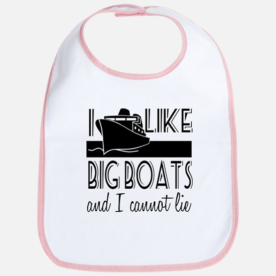 I Like Big Boats Bib