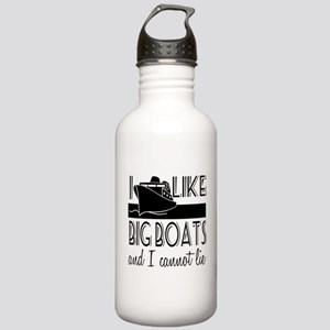 I Like Big Boats Stainless Water Bottle 1.0L
