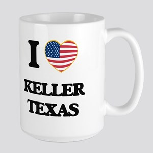 I love Keller Texas Mugs