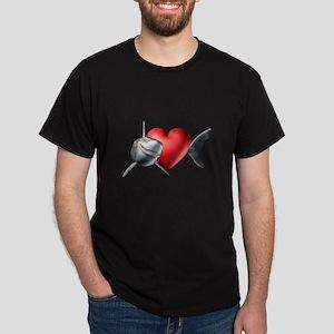 Shark Lover Dark T-Shirt