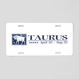 Taurus Aluminum License Plate