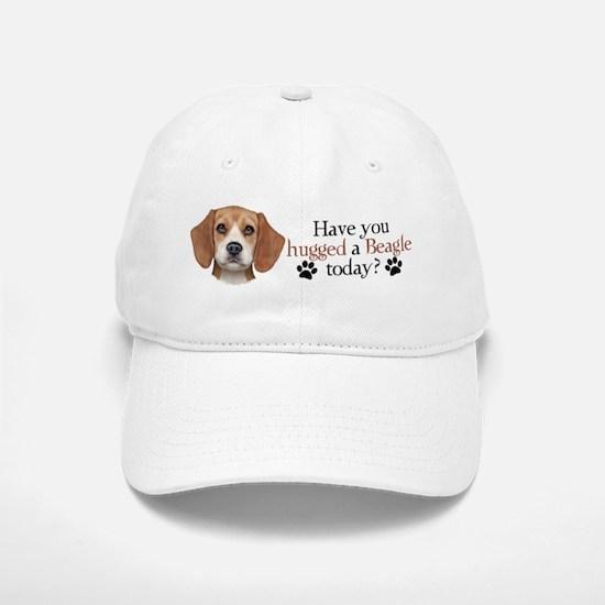Beagle Hug Baseball Baseball Cap