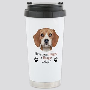 Beagle Hug Stainless Steel Travel Mug