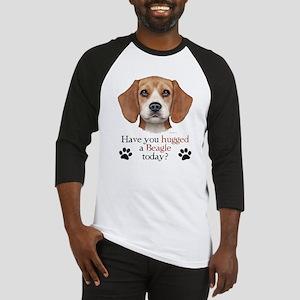Beagle Hug Baseball Jersey