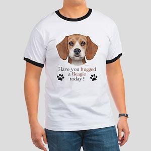 Beagle Hug Ringer T