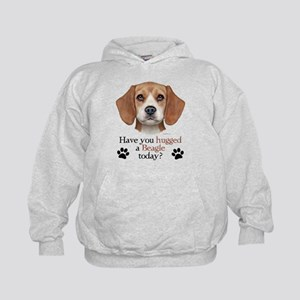 Beagle Hug Kids Hoodie