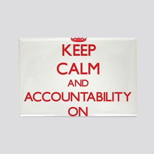 Keep Calm and Accountability ON Magnets