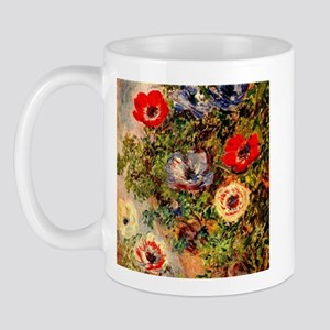 Anemone by Monet Mug