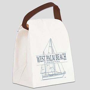 West Palm Beach - Canvas Lunch Bag