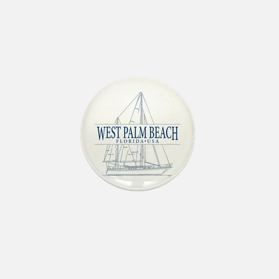 West Palm Beach - Mini Button
