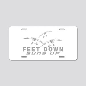 DUCK HUNTING Aluminum License Plate