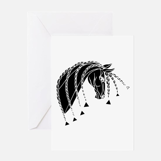 Braided Mane- Greeting Card