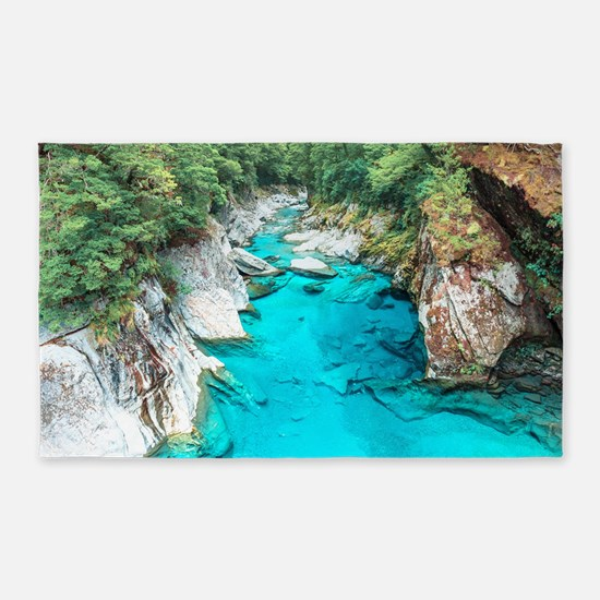 New Zealand River Area Rug