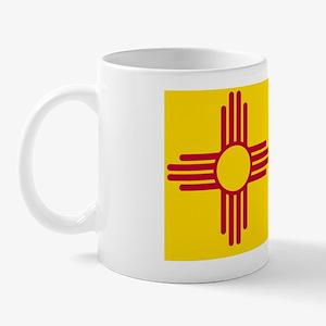 New Mexico State F lag Mug
