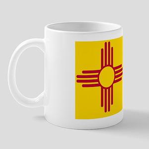 New Mexico State F|lag Mug