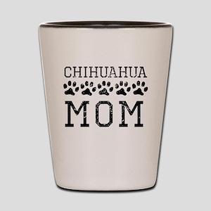 Chihuahua Mom (Distressed) Shot Glass