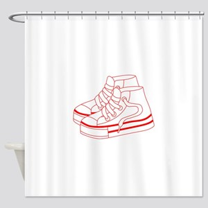 Tennis Shoes Shower Curtain