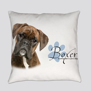 Boxer Puppy Everyday Pillow