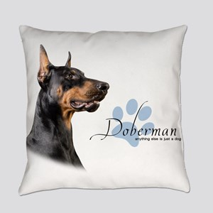 Doberman Everyday Pillow