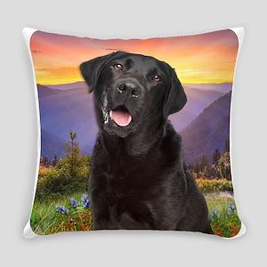 Labrador Meadow Everyday Pillow