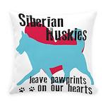 pawprints Everyday Pillow