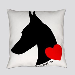 heartsilhouette Everyday Pillow