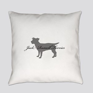greysilhouette3 Everyday Pillow