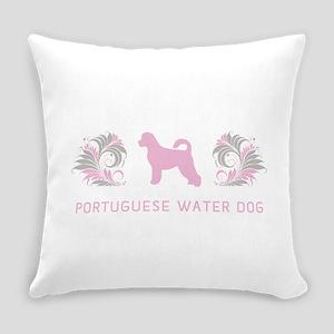 12-pinkgray Everyday Pillow