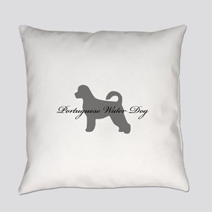 19-greysilhouette2 Everyday Pillow