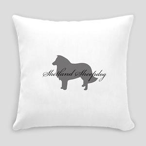 6-greysilhouette2 Everyday Pillow