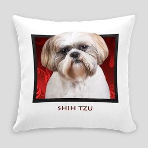 2-redblock Everyday Pillow