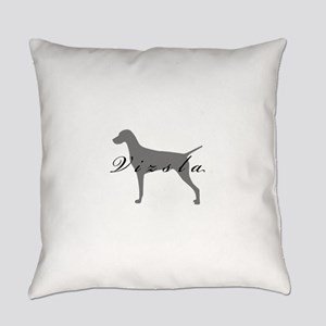 21-greysilhouette2 Everyday Pillow