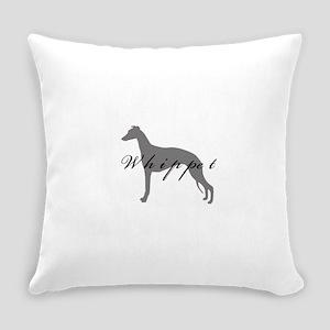 25-greysilhouette2 Everyday Pillow