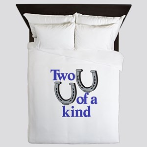 Two of a Kind Queen Duvet