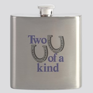 Two of a Kind Flask