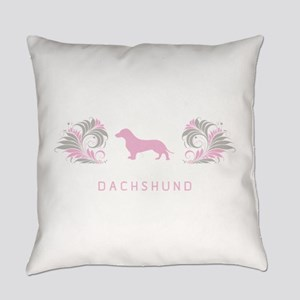 10-pinkgray Everyday Pillow