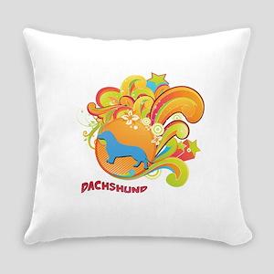 4-retro Everyday Pillow