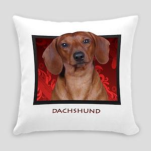 5-redblock Everyday Pillow