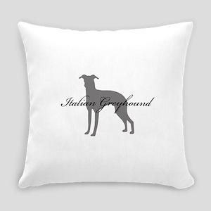 14-greysilhouette2 Everyday Pillow