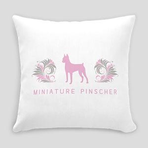 3-pinkgray Everyday Pillow