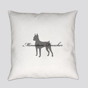5-greysilhouette2 Everyday Pillow