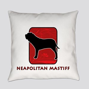 6-redsilhouette Everyday Pillow